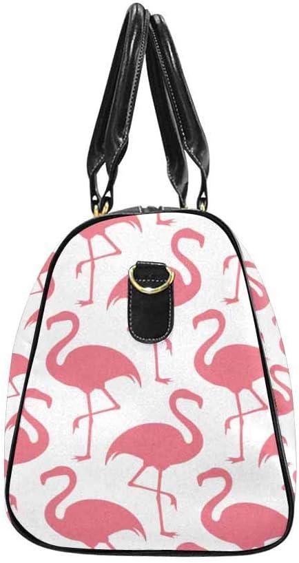 Flight Bag Gym Bag Flamingo InterestPrint Large Duffel Bag