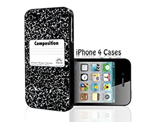 Composition Notebook iPhone 4/4s case by ruishername