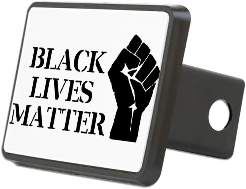 Truck Receiver Hitch Plug Insert CafePress Black Lives Matter Raise Trailer Hitch Cover
