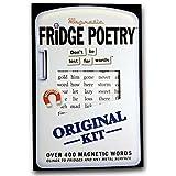 Refrigerador poesía Original imanes de nevera imanes palabras gracioso regalo de la novedad