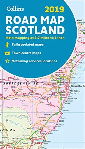 2019 Collins Road Map Scotland ()