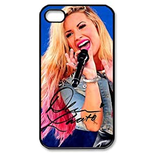 Customize Singer Demi Lovato Cellphone Case Fits for Apple iphone 4 4S JN4S-1829