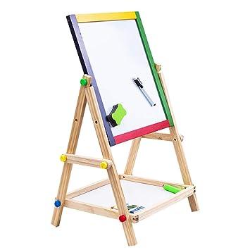 Tablero de dibujo para niños Tablero magnético de doble cara ...