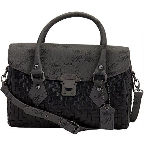 Paris Hilton Handbags - Galleria Black Handbag