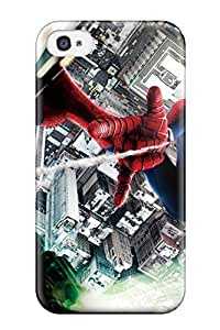 Sanp On Case Cover Protector For Iphone 4/4s (the Amazing Spider Man 2 Imax)