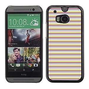 ZECASE Funda Carcasa Tapa Case Cover Para HTC One 2 M8 No.0000082