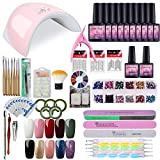 Saint-Acior Gel Nail Polish Starter Kit UV LED 36W Nail lamp Dryer Manicure - Best Reviews Guide