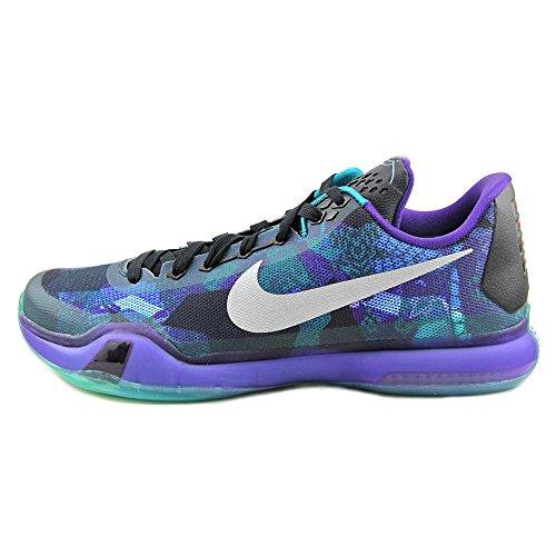Reflect Court Basketball Shoe Men's Glow Nike Purple Silver Kobe X Emerald aw4qHx