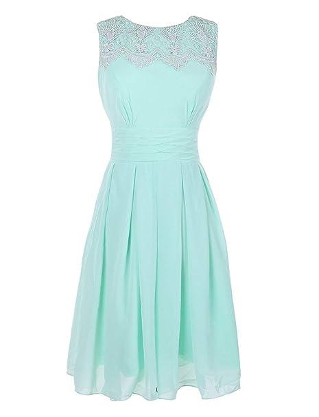 Hsdda Vestido De Dama De Honor Para Niños Color Verde