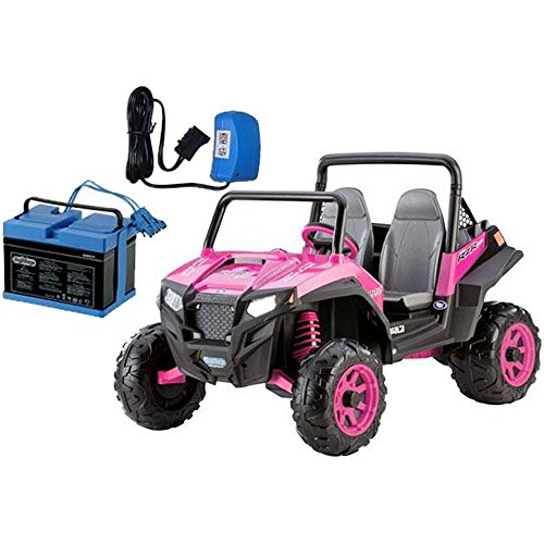 - Polaris RZR 900 - Pink With 12 Volt Battery And Charger ()