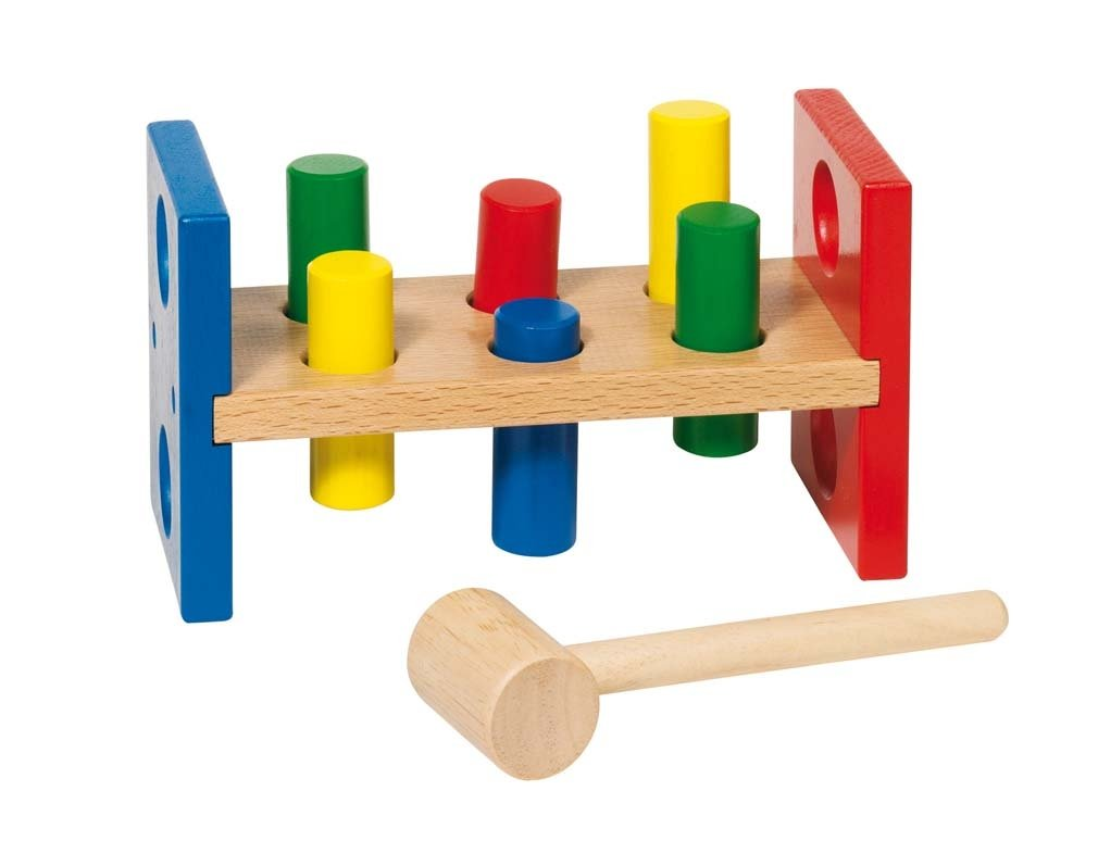 Goki Hammerbank Rectangular Baby Toy
