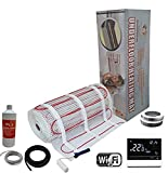 Electric Underfloor Pro Elite Heating kit 200w - 2.5m2 - White WiFi Thermostat