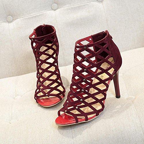 Elegante SmrBeauty Scarpe Sandali Donna i Con Tacchi Alti OHprnwHUq