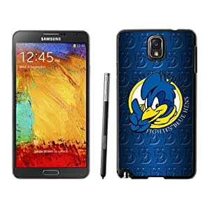 Fashion And Unique Samsung Galaxy Note 3 Cover Case NCAA Colonial Athletic Association CAA Football Delaware Fightin Blue Hens 4 Protective Cell Phone Hardshell Cover Case For Samsung Galaxy Note 3 N900A N900V N900P N900T Black Phone Case