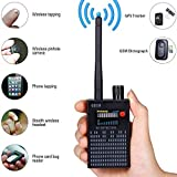 Anti Spy Camera Detector RF Signal Bug Detector Wireless Signal Laser Lens GSM Detector Ultra-high Sensitivity Full-Range Tracker Finder