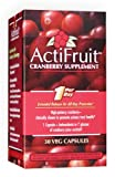 Enzymatic Therapy Actifruit Cranberry Supplement  30 Veg Capsules,  Bottle (Pack of 2) For Sale