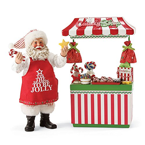 Department 56 Possible Dreams Santa's Sweet Shop Figurine ()