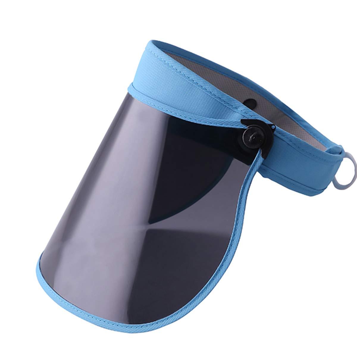 Sun Visor Hat for Women Men Beach Shield UV Protection Cap Hat Wide Brim