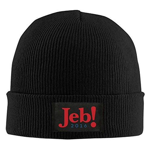 2016-jeb-the-musical-beanie-hat-knit-cap-for-men-women-4-colors-black