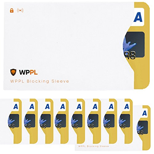 RFID Sleeves Credit Card Sleeve