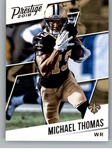 2018 Prestige NFL #96 Michael Thomas New Orleans Saints Panini Football Card Panini Prestige
