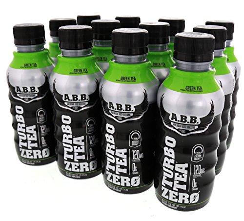 ABB Turbo Tea Zero Green Tea 12 – 18 fl oz 532 ml Bottles