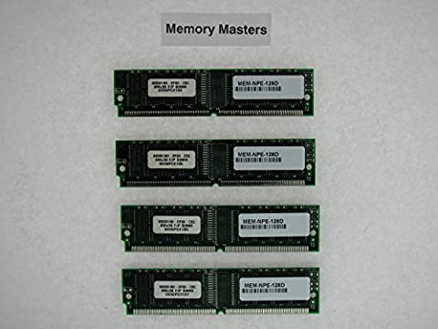 MEM-NPE-128D 128MB Approved (4x32MB) Cisco 7200 Series NPE (MemoryMasters) - 32 Mb Approved Memory