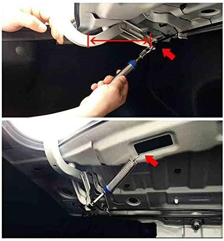 Nrpfell Adjustable Car Trunk Boot Lid Lifting Device Spring Remote Automatic Open Spring Trunk Spring