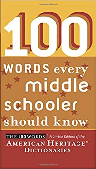 ??BEST?? 100 Words Every Middle Schooler Should Know. ready MEETING Coche primera gender combinan Poker Sailab