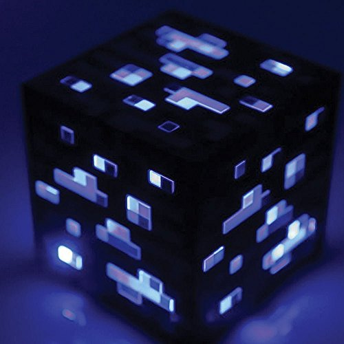 Think Geek Minecraft Light-Up Diamond Ore