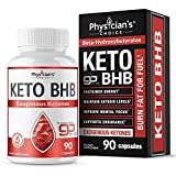 Exogenous Ketones goBHB Keto Salts: Keto Diet Pills, Sustained Energy - No Crash or Jitters Maintain Ketosis Levels, Improve Mental Focus, Supports Endurance, 90 Keto Pills