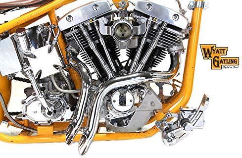 Paughco 734 Drag Pipe 13//4 s For Fl Models Exhaust S//C Drag 70-84Fl