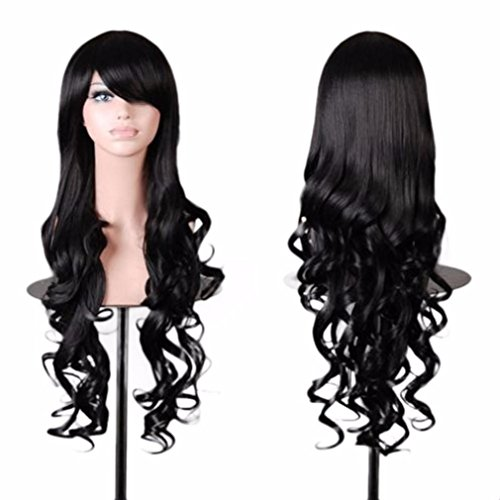 Long Curly Wig,Hemlock Women Girl Wave W - Curls Halloween Wig Shopping Results