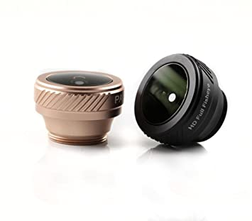 PAIAP Mobile Phone Camera 180° Fish Eye Lens No Distortion High