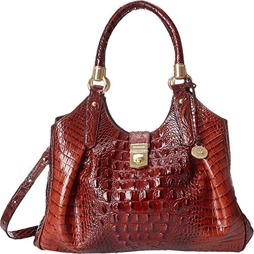 Brahmin Elisa Shoulder Bag, Pecan, One Size ()