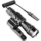 Feyachi FL14 Mlok Flashlight 1200 Lumen Tactical Flashlight with M-Lok Rail Mount