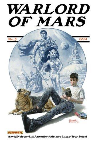 Download Warlord Of Mars #5 Joe Jusko Cover pdf epub