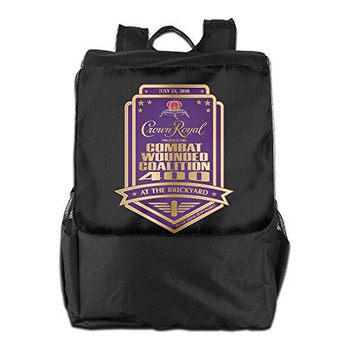 Crown Royal Backpack Travel Bags Rucksack Roller Backpack Light Daypack