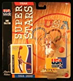 JASON KIDD * 2000 OLYMPICS MEN'S BASKETBALL TEAM U.S.A. * NBA Team Super Stars Limited Edition Figure, USA Display Base & Exclusive Topps Collector Trading Card