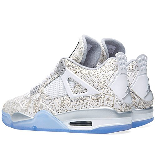 Nike Air Jordan 4 Retro Laser, Zapatillas de Deporte Exterior para Hombre Multi