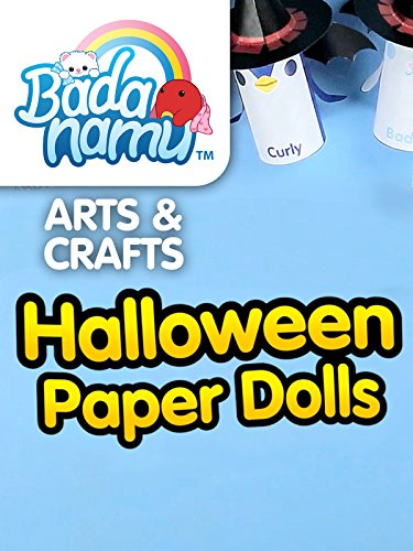 Badanamu Arts & Crafts EP7: Halloween Paper