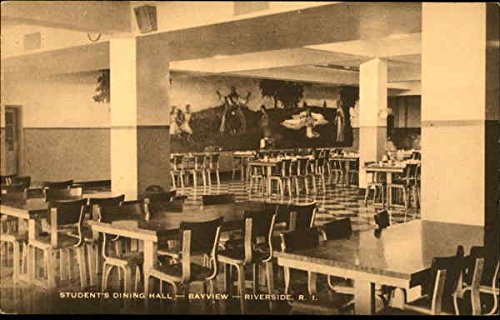 Amazon Com Student S Dining Hall Bayview Riverside Rhode