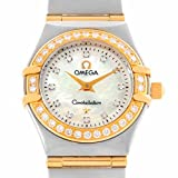 Omega Constellation quartz womens Watch 1267.75.00 (Certified Pre-owned)