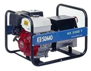 Generador eléctrico SDMO INTENS HX 5000 T C Honda Motor 230/400 V 5 55 kVA