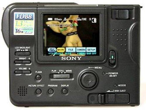 Sony Mavica MVC-FD88 1.3MP Digital Camera ()
