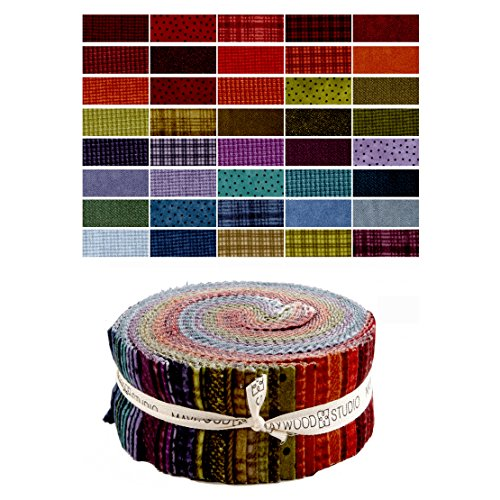 (Maywood Studio Woolies Flannel Colors 2.5