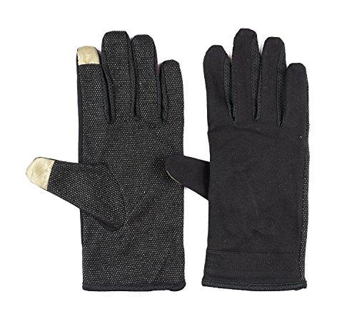 Men Summer Driving Gloves Touchscreen UV Sun Gloves Light Weight Cotton Gloves