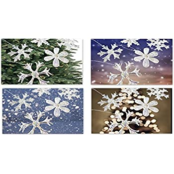 Homeneeds 'Glass Snowflake Ornaments' (12)