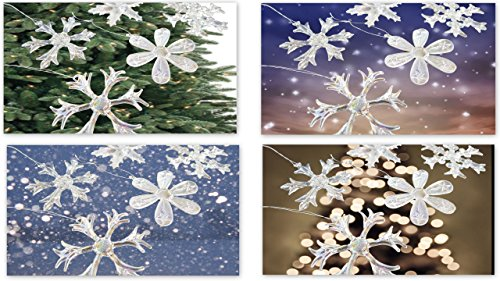 Homeneeds 'Glass Snowflake Ornaments' (12)]()