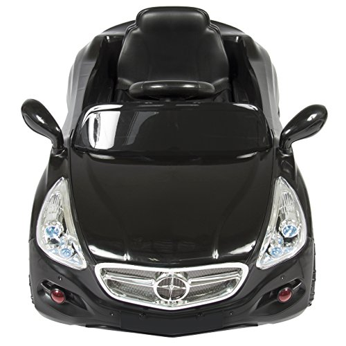 best choice products kids 12v electric power ride on car with radio mp3 black buy online in. Black Bedroom Furniture Sets. Home Design Ideas